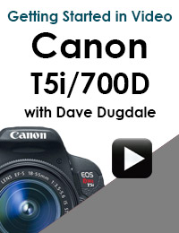 Dave with t5i 700d